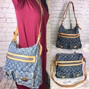 🦋RETIRED🦋Crossbody denim Louis Vuitton bag